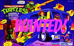 TMNT Channel 6 van (The Hissing Peppermint) Tags: tmnt newsvan