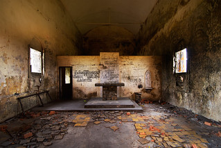 Inside the Old Church, Bokor Hill