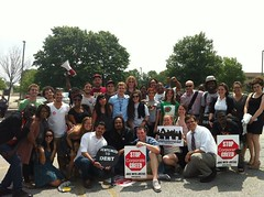 "May 24: Students Stand up to Sallie Mae! • <a style=""font-size:0.8em;"" href=""http://www.flickr.com/photos/76961723@N08/7309389996/"" target=""_blank"">View on Flickr</a>"