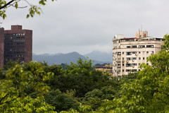 IMG_3336 (jaglazier) Tags: trees panorama mountains june gardens architecture clouds buildings landscapes apartments skyscrapers cities taiwan parks western taipei daanforestpark 20thcentury urbanism 2012 daan deciduoustrees 6112 concretebuildings 20hcentury 20thcenturyad copyright2012jamesaglazier