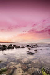 Sunset at Towradgi Beach, Wollongong, NSW, Australia (Taha Elraaid) Tags: sunsetattowradgibeach wollongong nsw australia beautiful canon elraaid photography tahaphotography tahaelraaid       wollongongcity thegong sunset illawarra 7d taha image eos 5d mark iii 1740 mm canoneos5dmarkiii  2012
