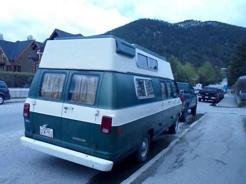 1978 Dodge Tradesman Camper van rear - a photo on Flickriver