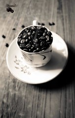 Black as devil, hot as hell, pure as an angel, sweet as love! (Shaunanand) Tags: coffee beans bean miscellaneous anand shaunanand