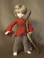 RustRenboystandbow (clochette62) Tags: tinies el elf tiny bjd dollfie fairyland kirk tinys bjds ltf littlefee pixiedustdesigns pixidustdesigns trooptiny