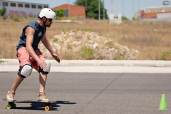 Life After WP - Skating with the Big Boys (Myprofe) Tags: skate skateboard slalom illescas