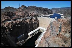Las Vegas - The Hoover Dam (gamelle71) Tags: usa lake hotel lasvegas dam nevada casino strip hoover mead barrage etatsunis nikond90 tokina1116mmf28
