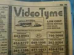 Video Tyme 1986 (frankasu03) Tags: las vegas store video rental retro business 80s 1986 90s tyme