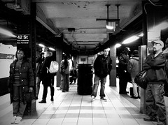 Beneath The Streets, There Is Life (Joel Levin Photography) Tags: street nyc newyorkcity urban blackandwhite bw usa newyork subway candid streetphotography allrightsreserved newyorklife iphone mobilephotography iphone4 thedefiningtouch iphoneography deftouch editedanduploadedoniphone joellevin