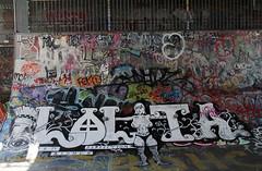 graffiti (wojofoto) Tags: amsterdam graffiti streetart wojofoto hof amsterdamsebrug flevopark nederland netherland holland wolfgangjosten