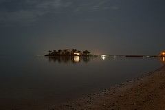 El Gouna (Lars Glorvigen) Tags: longexposure light sea summer fish reflection beach water night stars nikon clear d90 abigfave