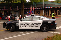 Kirkland PD (trident2963) Tags: city washington 4th july police parade wa dodge law enforcement kirkland fourth charger kirklandpolice