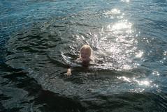 L1034589 (erikflickr) Tags: sea sun swimming sailing wilma fjord erik camilla bathing seiling
