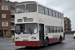 B926KWM (stamper104) Tags: bus classic vintage 1984 peninsula leyland wirral atlantean