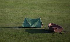Camp Site (russellstreet) Tags: newzealand auckland campsite peterlange aucklandbotanicgardens sculpturesinthegarden2007 stoneleighsculpturesinthegarden2007 sculptureinthegardens2011
