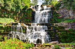 Chittenango Falls 1 (tomkny) Tags: usa water river landscape waterfall newyorkstate hdr scenicsnotjustlandscapes