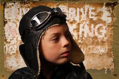Pilot Boy (Jeanette Svensson) Tags: boy leather sign canon studio alt helmet 7d winner pilot googles poirtrait 8766 jeanettesvensson