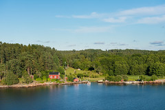 Red house (JarkkoS) Tags: house building forest landscape europe sweden d800 2470mmf28g sterkermunicipality