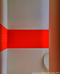 Bright Red Stripe on a White Wall SF MOMA (lhg_11/ Thanks you for 500,000 views of 6,371 iima) Tags: sanfrancisco red abstract stripe museums sanfranciscomuseumofmodernart artmuseums