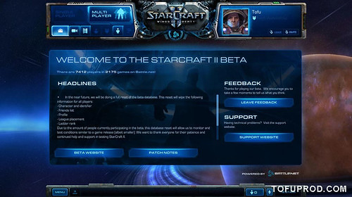 Starcraft II - BETA - Day 1