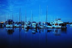 Calma (Picardo2009) Tags: california usa marina boats island bay nightshot barcos sandiego calm bahia coronado isla noc flickraward nikonflickraward
