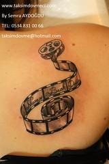 Filmstrip girl tattoo / Bayan dvme Film eridi (taksim beyolu dvmeci) Tags: woman art tattoo artist femme models drawings istanbul tattoos taksim examples vrouwen tatouage bayan mannen kiz modle modelleri dovme izimler dovmeciler taksimdovme dovmemodelleri dovmesi