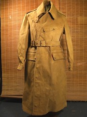 1943 despatch riders rubberised coat unissued (a tear for you greece) Tags: army military coat great ww2 motorcycle british wd rider waterproof 1943 dispatch despatch rubberised