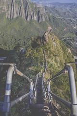 The heaven (anthonyvillar) Tags: hawaii oahu hawaiian style haiku stairs stair way heaven paradise 808