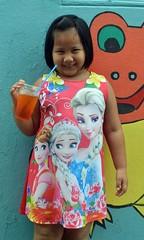 sugar (the foreign photographer - ) Tags: jul242016nikon girl colorful dress orange sugery drink daycare center khlong bang bua lard phrao bangkhen bangkok thailand nikon d3200