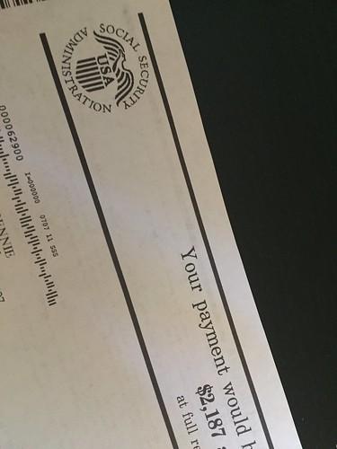 Social Security Logo, Letter