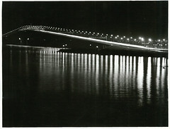 Night shots of traffic and car lights on the Auckland Harbour Bridge (1973) (Archives New Zealand) Tags: archivesnewzealand archives archivesnz auckland harbour bridge newzealand newzealandhistory nz nzhistory cars northisland 1973 nationalpublicitystudios