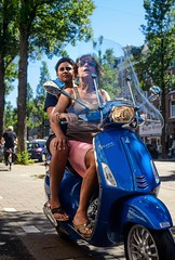 Vespa special (petdek) Tags: vespa people street blue women candid