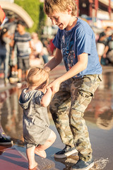 Dancing (federicophotography) Tags: child portrait kids playing federico photography federicophotography water splash baby fair nikon d750 tamron sp 70200 f28 di vc usd