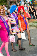 Drag boys - Jacaranda Parade 2015 (sbyrnedotcom) Tags: 2015 people events grafton jacaranda parade rural town drag crossdressing nsw australia
