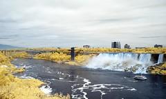P8170220 - American Falls & Rainbow Bridge (Syed HJ) Tags: olympusomdem5 olympusem5 olympus em5 olympusmzuikodigitaled1442mmf3556iir olympusmzuiko1442mmf3556 olympus1442mmf3556 olympus1442mm 1442mm niagarafalls niagara falls ny canada americanfallsniagarany americanfalls infrared ir 630nm rainbowbridge