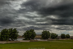 Storm Brewing. (johnwilliamson4) Tags: adelaide clouds landscape outdoor portriver trees water portadelaide southaustralia australia
