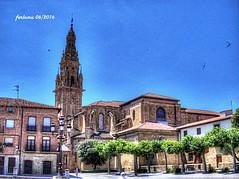 Santo Domingo de la Calzada (La Rioja) 01 Plaza Mayor (ferlomu) Tags: ferlomu larioja plaza santodomingodelacalzada