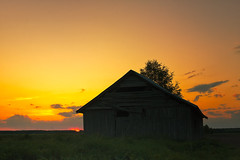 Lonely Barn House In The Summer Sunset (k009034) Tags: 500px wooden copy space finland matkaniva oulainen tranquil scene agriculture architecture barn house barns building clouds countryside evening fields nature night no people old rural shadows sky sunset trees teamcanon copyspace tranquilscene barnhouse nopeople
