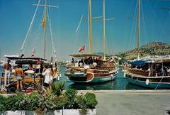 Pleasure Boats in Turgutreis Turkey (Eddie Crutchley) Tags: turkey turgutreis outdoor coast sunlight sea boats