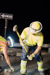 D6084_CM-288 (MoDOT Photos) Tags: nightworkzone modot i70 exitramp bycathymorrison d6084 maintenance concretereplacement heavyequipment safetygear harthats safetyglasses reflectiveshirts lights cones saw midway missouri