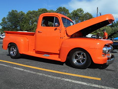 1951 Ford F-1 (splattergraphics) Tags: 1951 ford f1 pickup truck custom carshow thompsonstowing aberdeenmd