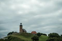 Lighthouse (judithrouge) Tags: lighthouse leuchtturm wolken clouds landscape lanschaft meer sea travel vacation reise urlaub