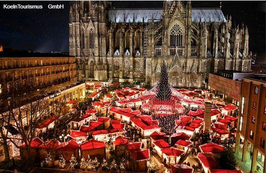 **(クリスマスマーケットのオプショナルツアー)
