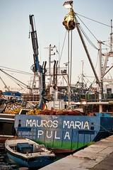 Mauros Pula (tamson66) Tags: boat fishermen port pula istria