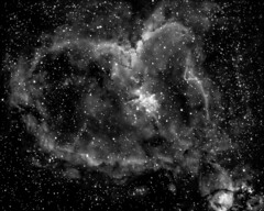 2016_08_14 - Heart Nebula Ha - PX LR STACK 2_2 (irg.astronomy) Tags: space deepspace outerspace universe astronomy astrophotography sky nightsky
