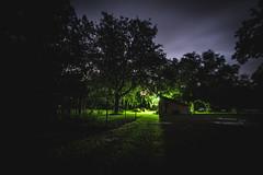 _DSC9502 (CassinStacy) Tags: forest florida woodlands night dusk sky clarity spooky dark scary evening radio tower