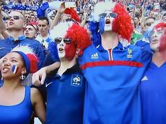 Allons enfants de la Patrie (knightbefore_99) Tags: euro 2016 sport football futbol match game beautiful finals art france french patrie hymn red white blue winners
