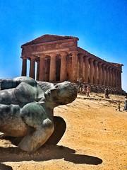 Concordia Temple (gdio1170) Tags: agrigento temple ikaro concordia sicilia sicily