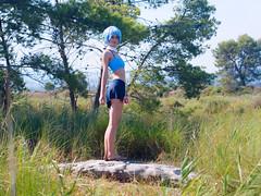 Shooting Aquali - Pokemon - Plages des Salins - Hyères - 2016-09-03- P1560115 (styeb) Tags: shoot shooting aquali pokemon humanize gikinka 2016 septembre 03 lessalins hyeres cosplay xml retouche plage
