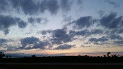 Kansas Sunset (Adventurer Dustin Holmes) Tags: 2016 kansas lawrencekansas lawrenceks i70turnpike i70