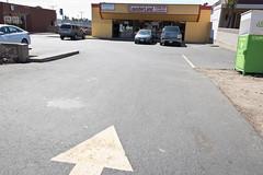 LaunderLand (Ron Rothbart) Tags: california elcerrito jeffbrouws arrow laundramat laundry parkinglot